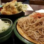 ゆで太郎 五反田 TOC 天ぷら 蕎麦