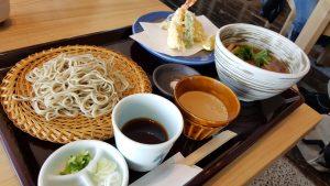 天ぷら 蕎麦 鴨南蛮